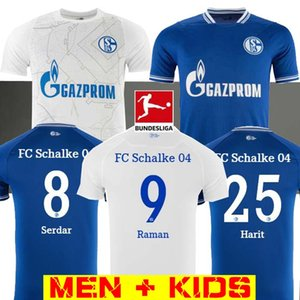 20 21 Schalke 04 camisas de futebol 2021 casa 2.020 distância camisas de futebol terceiro SERDAR OZAN Harit Raman Bentaleb MC Kennie KUTUCU