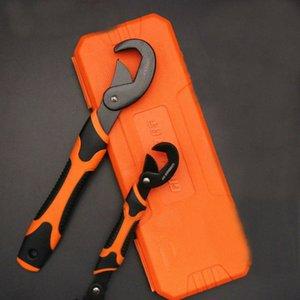 2adet çok fonksiyonlu Evrensel Anahtarı Ayarlanabilir 9-32mm Tutma Anahtarı seti mandal Spanner el aletleri set MO4Z #