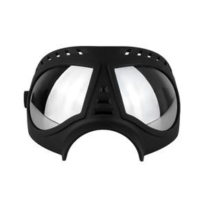 Hundeschutzbrille Sonnenbrille UV-Schutz-windundurchlässig schnee- Pet Eye Wear Medium Large Hundeschwimmbrillen JK2005XB