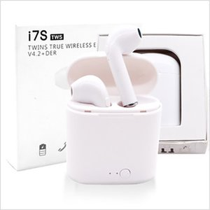 i7s TWS in-ear Bluetooth headset stereo surround white version 5.0 Apple and Android universal headset