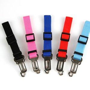 1PC Adjustable Vehicle Car Pet Dog Seat Belt Puppy Car Seatbelt Harness Lead Clip Pet Dog Supplies Safety Lever Auto