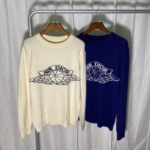 Europa Frauen und Mensentwerfer Pullover retro klassischen Luxus-Sweatshirt Männer Arm Brief Stickerei Rundhalsausschnitt bequeme hochwertige Jumper
