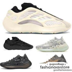 Kanye West 380 700 V3 Azael Alvah Alien Mist Reflective White 2020 New Designer Mens Women Man Wave Runner Trainers Running Sneakers Shoes