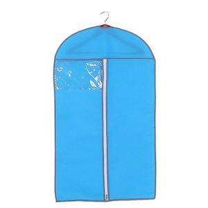 Dust Proof Garment Storage Bag Closet Wardrobe Hung Display Placing Dress Blazer Suit Coat Hanging Organizer Cover