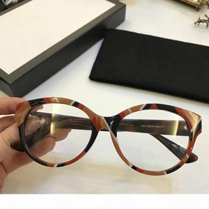 0099 Luxury Fashion Women Brand Designer 0099OA Glasses Hollow Out Optical Lens Square Full Frame Black Tortoise Bing Bing Come With Case