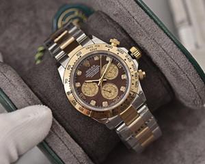 Diseñador de relojes de lujo para hombre relojes del reloj hacia fuera helado Reloj Reloj de lujo orologio di Lusso reloj de los hombres sin tiempo Datejust