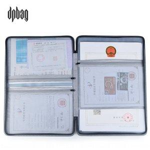 O9vWq Ticket dpbag Titular licença de negócio portador do bilhete três certificados em um armazenamento de certificado de qualidade saco factura clipe de armazenamento A3A4