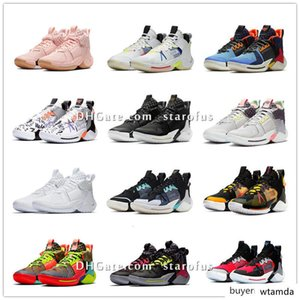 Why Not Zer0.2 SE PF Cotton Shot All Star BHM Light Smoke Grey Basketball Shoes Russell Westbrook Sport Sneakers With Box Size US7-US12
