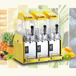 Коммерческий от снега машин 110V / 220V Электрической Слякоти машины для холодных напитков Maker Смузите Изготовление льдогенератора