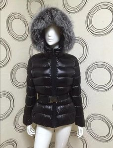 Women Winter Jackets Ladies Real Raccoon Fur Collar Duck Down Inside Warm Coat Femme With All The Tag And Label Women's Down & Parkas