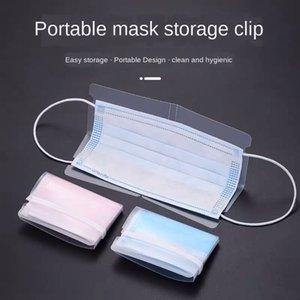 Disposable Mask Temporary Children's Convenient Waterproof Artifact Cartoon Folding Clip Transparent Portable Storage