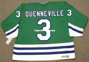 Großhandelsmens Joel Quenneville Hartford Whalers 1988 CCM Jahrgang Günstige Retro Hockey Jersey