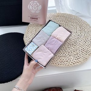 Rose ropa interior esencia caja 5 piezas de perfume de la ropa interior de rosa pantalones perfume del aceite esencial desnudo cadera amoníaco mediados de cintura antibacterial