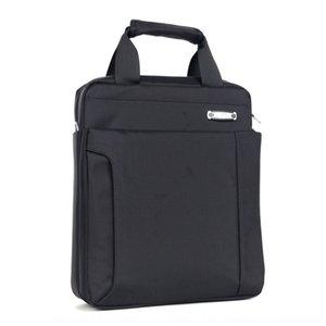 Diz üstü bilgisayar çantası bilgisayar çantası OL düz belirtilmeli gidip 88VDd su geçirmez naylon kumaş 13 inç dizüstü omuz haberci dikey evrak çantası