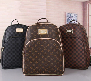 09 Дизайнер Рюкзак Дважды сумки на ремне Роскошные путешествия на открытом воздухе ранцы для женщин Студенты рюкзаки 6LVLOUISVUITTON