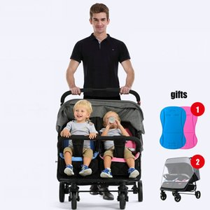 Dobre Twins Stroller Mutiple Stroller do transporte de bebê