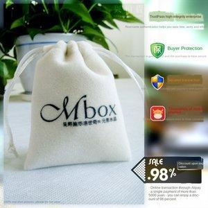 High-quality flannel selfie Non-woven storage bag stick storage bag non-woven cloth bundle pocket printable
