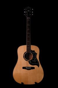 الجملة وصول جديدة BROUSSJN 41 # نموذج حمامة الغيتار الصوتية مخصص من الخشب الصلب والطبيعية