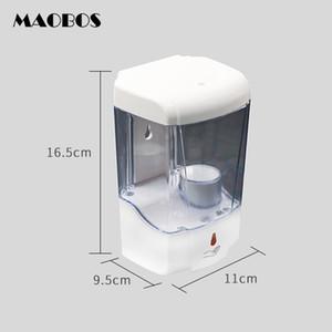 700ML sin contacto de alcohol desinfectante de la mano de desinfección automático dispensador de jabón montado en la pared de aspersión sin sensor niebla Para el hogar