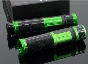 Pour moto en aluminium en fibre de carbone Fold Prolonger d'embrayage Leviers de frein poignée verte T0sh #