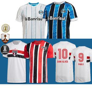 2020 2021 جريميو كرة القدم باولو جيرسي اديلسون GEROMEL KANNEMANN MILLER DIEGO SOUZ باولو PABLO داني ألفيس رينالدو camiseta دي futebol
