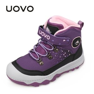 Water Repellent Outdoor UOVO Fashion New Arrival Kids Boys Girls Sport Shoes Anti-slip Children Casual Sneakers Eur #30-38 CX200724