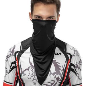 Halloween Half Face Mask Face Cover Motorcycle Neck Scarf Riding Headband Balaclavas Sports Summer Sun-Protective Cycling Neckerchief