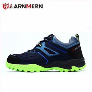 Toe LARNMERN Marca Mens aço de trabalho Segurança Shoes Anti Smashing outoor respirável Anti Puncture Não Deslizamento de protecção Jv9p #