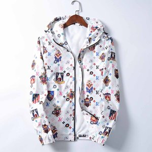 Men's jacket vest zipper reflective casual hoodie men's and women's windbreaker jacket fashion jacket vest top