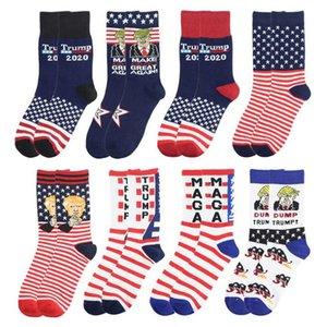DHL Gemi Yeni Trump Çorap Başkanı MAGA Trump Harf çorap Çizgili Yıldız ABD Bayrağı Spor Çorap MAGA Çorap Parti Favor BWA697