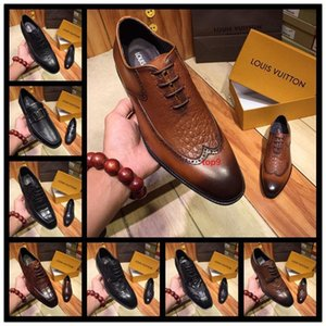 A1 Mix 13 style Men Genuine Leather Wedding Dress shoes Men Luxurious Prom and Banquet Loafers Men s Casual Flats Big Size 38-44