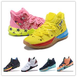 Kyrie Irving De calidad superior Esponja Kyre Pineapple House 5 zapatos de baloncesto del Mens Ourdoor hombre entrenadores deportivos zapatillas de deporte Tamaño 40-46