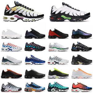 tn além de se ter um chaussures dia agradável mens tênis Hiper Preto Azul Branco Triplo Reminiscência futuros homens instrutor das sapatilhas esportivas