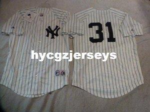 Cheap baseball NY ICHIRO SUZUKI #31 SEWN shirt Jersey WHITE New Mens stitched jerseys Big And Tall SIZE XS-6XL For sale