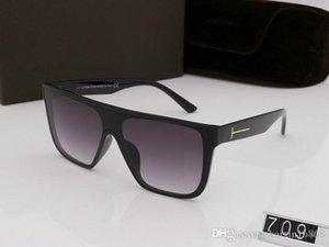 роскошный топ большой Qualtiy нового способа 709 Tom солнечные очки для парня девушку Erika очки брод дизайнерский бренд ВС очки с оригинальной коробке томом