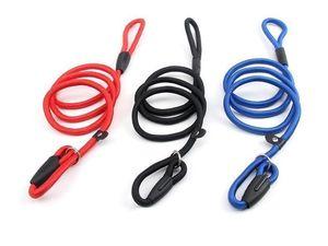 Pet Dog Nylon Rope Training Leash Pet Animals Rope Slip Lead Strap Adjustable Traction Collar Supplies Accessories