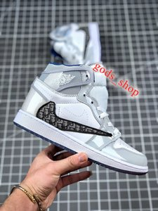 xshfbcl New Officially revealed anniversary collaboration Grey White French fashion style label Kim Jones Sneaker shoe size36-46