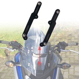 Cubre montón ornamental Molduras 2019 para HONDA NC750X NC 750X 2016 2017 2018 Ajustadores accesorios de la motocicleta parabrisas flujo de aire ajust ...