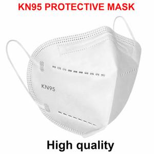 KN95 maschera antipolvere antinebbia Maschere Anti Spit traspirante Viso 95% PM2.5 filtrazione N95 Maschera Caratteristiche sicurezza delle forniture di protezione di trasporto del DHL