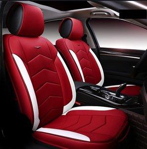 Accesorios universales del coche cubiertas del asiento para el sedán de lujo Modelo PU Adjuatable cinco plazas cubiertas del asiento BMW interior del sistema completo de coches para SUV