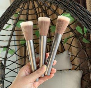 Metal handle point color brush soft fiber hair blush brush remaining powder highlight face brush makeup brusher