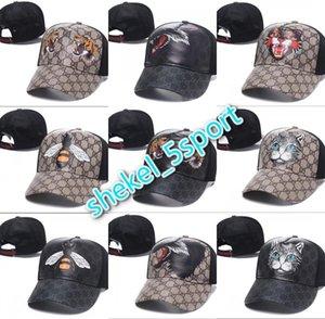 Men Women winter Mesh Ball Cap High Fashion Sport Baseball Caps Adjustable Design Tiger Bee Casual Cap Daddy Golf casquette  hats