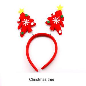 Christmas Headband Adult Children Xmas Party Decorative Head Buckles Christmas Decorations for Home Decor