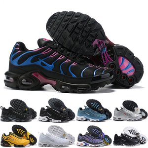 New Arrivals chaussure TN Plus casual Shoes 2018 tn Men Shoes Black White Trainers Hiking Sports Athletic Sneakers EUR40-45