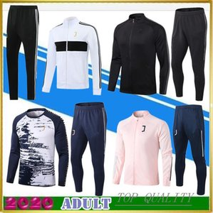 20 21 TOP quality Juventus soccer tracksuit jacket kits 2020 Camisas adults de futebol football training suit Jackets Hooded Tracksuits Windbreaker