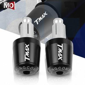 """7/8 """"22mm و الدراجات النارية المقود القبضات نهاية مقبض بار كاب نهاية التوصيل للحصول على YAMAHA TMAX TMAX 500 530 SX / DX TMAX500 TMAX530 XP500 XP530 Ip9W #"""