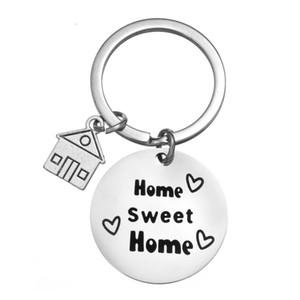 Hediye Kapanış Yeni Ev Sahibi Sweet Home Anahtarlık Emlakçi Yeni Ev Hediye eve taşınma Hediye