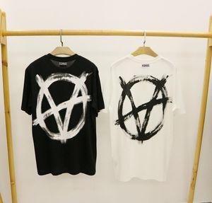 20ss VETEMENTS Tee tre Dei olio Religious painting T-shirt maniche corte Vintage Summer Street Men T-shirt HFYMTX640