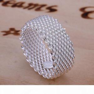 K Hot Sale Network Sterling Silver Ring Gr040 ,Women &#039 ;S 925 Silver Rrings Band Rings