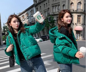 Wholesale fashion women's winter new short loose bread service ins thickened down cotton jacket